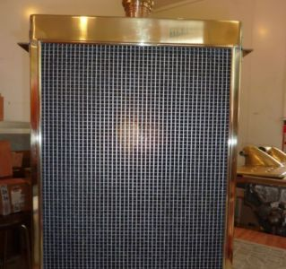 Completed reproduction radiator